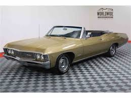 1967 chevrolet impala for sale on classiccars com 20 available