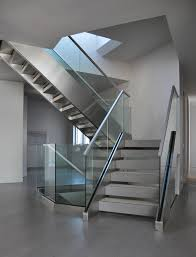stainless steel staircase handrail design in kerala also beautiful