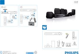 home theater philips philips home theater system hts3181 user guide manualsonline com
