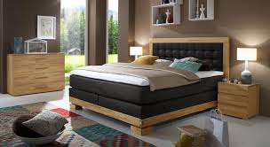 Schlafzimmer Komplett Bett 140x200 Boxspringbett 160x200 Cm Aus Buche Kaufen Viterbus