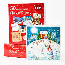 boxed christmas cards boxed christmas cards assorted pack of 50 only 1 99