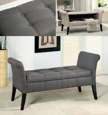 Bench With Rolled Arms Tufted Bench With Arms Choices To Pick A Tufted Bench From