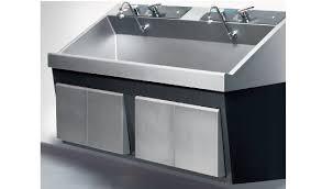 Scrub Sink steris amsco flexmatic heavy duty bay scrub sink refurbished