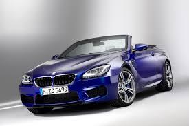 bmw m6 blue 2013 f13 blue bmw m6 convertible 3q front eurocar