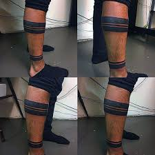 60 ankle band tattoos for lower leg design ideas band