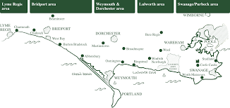 Dorset England Map by Dorset Holidays Places To Stay In Dorset Jurassic Coast Villages