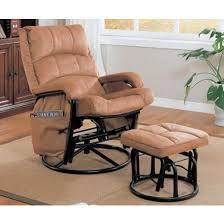 Rocking Chairs And Gliders Red Barrel Studio Gettysburg 2 Piece Rocker Glider U0026 Ottoman