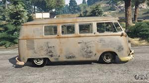 volkswagen minivan 1960 volkswagen transporter 1960 rusty beta for gta 5