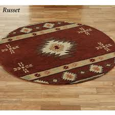 Round Burgundy Rug by Cheap Navajo Rugs Roselawnlutheran