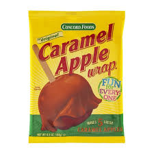 caramel apple wraps where to buy concord foods caramel apple wrap from shop n save instacart