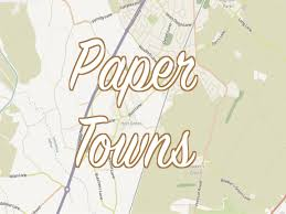 Paper Towns On Maps Twl 3 Paper Towns Fake Places Made To Catch Copyright Thieves