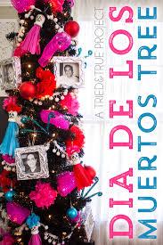 dia de los muertos decorations dia de los muertos tree tried true