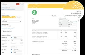 Make Your Own Invoice Template Invoice Templates From Zoho Invoice Customise Your Invoices