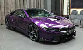 Bmw I8 On Rims - bmw i8 in twilight purple gets ac schnitzer carbon kit autoevolution