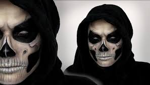 easy face makeup for halloween grim reaper makeup tutorial for halloween shonagh scott showme