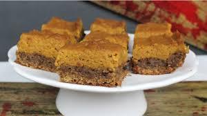 try carol s walking dead pumpkin pie cookie bar thanksgiving