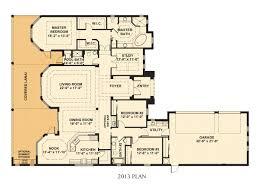 floor plans of single family homes home plan
