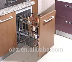 Kitchen Cabinet Pull Out Baskets Home Choice Stainless Steel Kitchen Cabinet Pull Out Storage