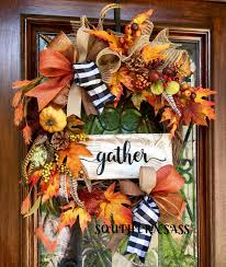 thanksgiving custom fall or thanksgiving wreath www facebook com groups