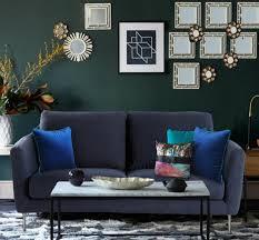 canapé coussins quels coussins pour un canapé bleu