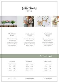 wedding photography pricing photography price list template pricing sheet guide wedding