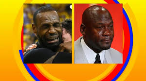 Lebron James Crying Meme - lebron james nba finals tears become trending meme video abc news
