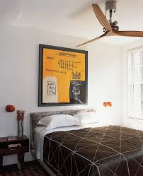 decorative wall mounted fans bedroom contemporary with art artwork