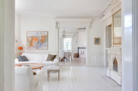 White Home Interior Design by White Villa In Sweden Interior Design Files