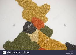 Mumbai India Map by Map Of India Made With Grains Kala Ghoda Arts Festival Mumbai