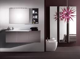 armadietto bagno con specchio touch mobile bagno laccato