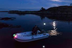 boat navigation light kit navisafe inflatable boat complete navigation light kit