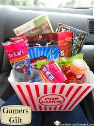 gamer s gift basket snack and sprinkle some