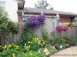 garden ideas along fence home design ideas