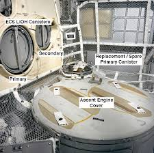 Lunar Module Interior Trying To Rest
