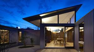 architects houses arii irie architects uses angled windows and tilted roofs for