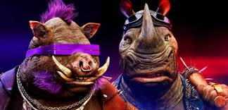 Bebop Rocksteady Halloween Costumes Teenage Mutant Ninja Turtles 2 Bebop Rocksteady Trailer Released