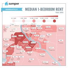 Map Of Twin Cities Metro Area by The Cheapest And Most Expensive Minneapolis Neighborhoods To Rent
