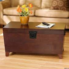 dark wood chest coffee table modern coffee tables storage trunk