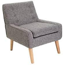 Retro Accent Chair Brockston Brown Fabric Retro Accent Chair Kitchen