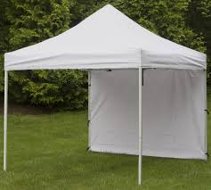 Promotional Canopies by Canopy Side Panel White Waterproof Polyester