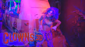 clowns 3d color at halloween horror nights 2014 universal