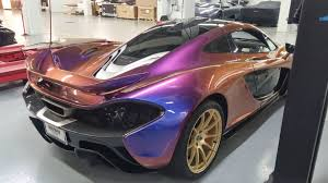 mclaren p1 purple you never know what might roll in the shop looking for a rub down