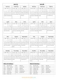 2016 printable calendar templates with us holidays blank