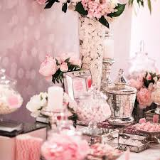 Pink Table L Pink White And Silver Dessert Table Buffets L Sweetie
