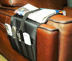 remote control caddy armchair couch holder newspapers magazines