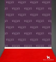 Backdrops For Weddings Custom Step And Repeat Backdrop For Wedding Photo Booth