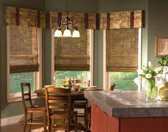 Kitchen Window Curtain Ideas by Curtains To Go With Wood Blinds Decorating Style Pinterest