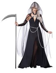 lady grim reaper scary costume buycostumes com