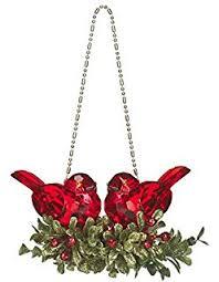 acrylic mistletoe ornament