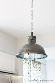 nautical kitchen pendant light over the island domestically speaking